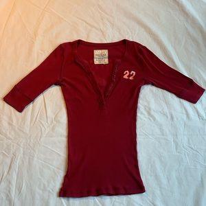 Hollister half-sleeve shirt